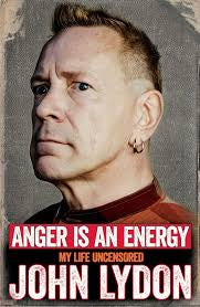 ANGER IS AN ENERGY-JOHN LYDON BOOK NM