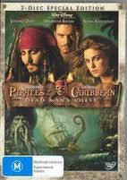 PIRATES OF THE CARIBBEAN 2 DEAD MAN'S CHEST 2DVD VG