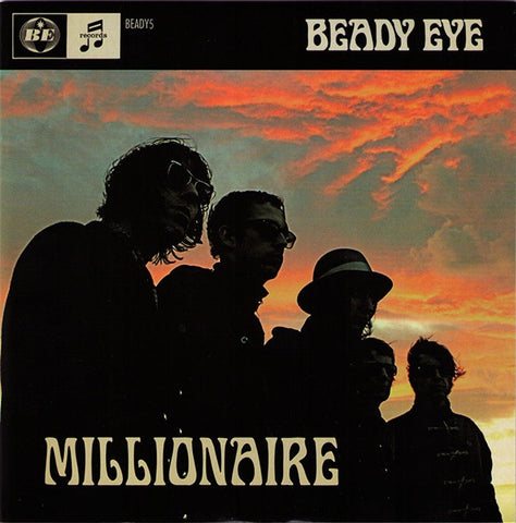 BEADY EYE-MILLONAIRE 7'' EX COVER VG+