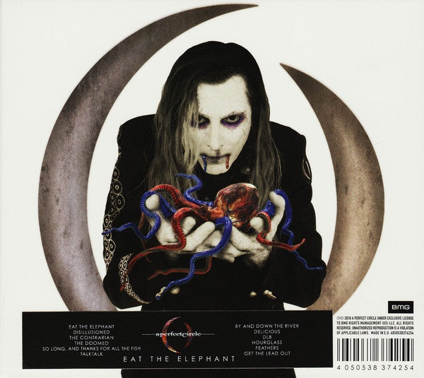 A PERFECT CIRCLE-EAT THE ELEPHANT CD VG
