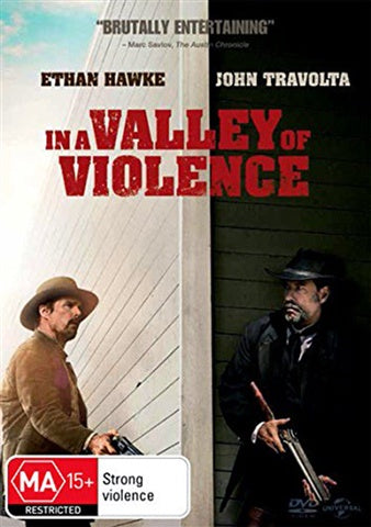 IN A VALLEY OF VIOLENCE DVD VG
