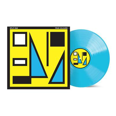 SPLIT ENZ-TRUE COLOURS BLUE VINYL LP *NEW*