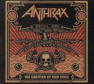 ANTHRAX-THE GREATER OF TWO EVILS CD VG