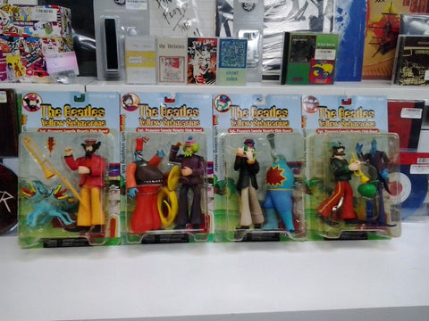BEATLES THE-YELLOW SUBMARINE SET OF 4 FIGURINES