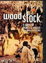 WOODSTOCK THE DIRECTOR'S CUT DVD VG