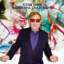 JOHN ELTON-WONDERFUL CRAZY NIGHT LP EX COVER VG+
