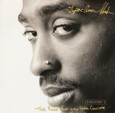 2PAC-THE ROSE THAT GREW FROM CONCRETE CD VG