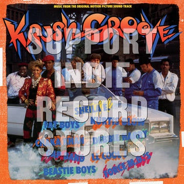 KRUSH GROOVE-OST VARIOUS ARTISTS ORANGE/ BLUE VINYL LP *NEW*