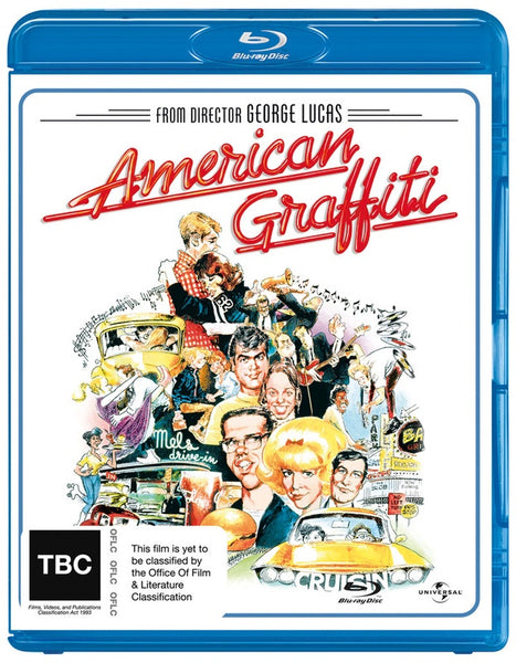 AMERICAN GRAFFITI BLURAY VG