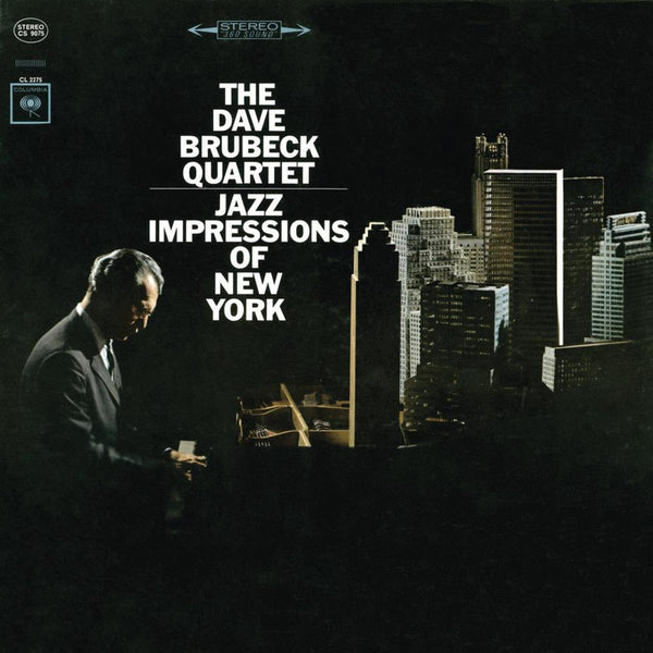 BRUBECK DAVE-JAZZ IMPRESSIONS OF NEW YORK LP EX COVER VG+