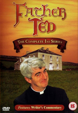 FATHER TED-COMPLETE FIRST SERIES DVD VG
