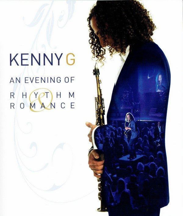 KENNY G-AN EVENING OF RHYTHM & ROMANCE DVD VG