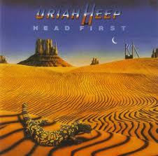 URIAH HEEP-HEAD FIRST LP VG COVER G