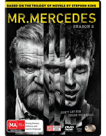 MR. MERCEDES SEASON TWO 3 DVD VG