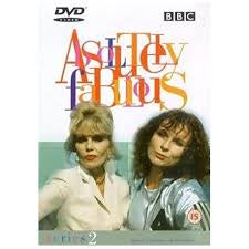 ABSOLUTELY FABULOUS SERIES 2 DVD VG