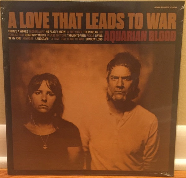 AQUARIAN BLOOD-A LOVE THAT LEADS TO WAR LP *NEW*
