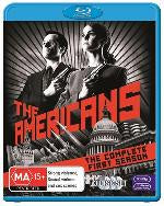 AMERICANS SEASON ONE 3BLURAY VG+