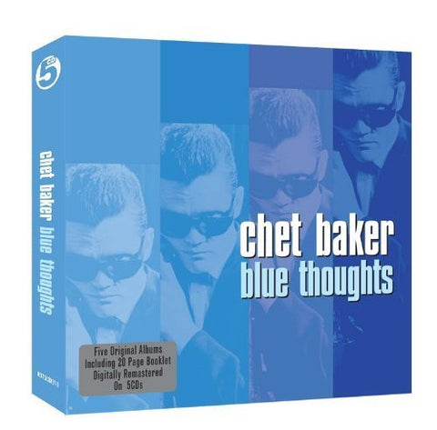 BAKER CHET-BLUE THOUGHTS 5CD *NEW*