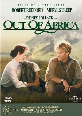 OUT OF AFRICA DVD VG
