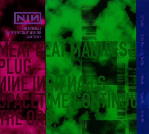 NINE INCH NAILS-THE PERFECT DRUG VERSIONS CD VG
