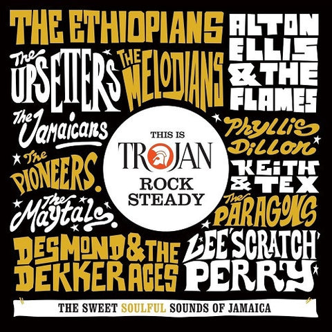 THIS IS TROJAN ROCK STEADY-VARIOUS ARTISTS 2CD *NEW*