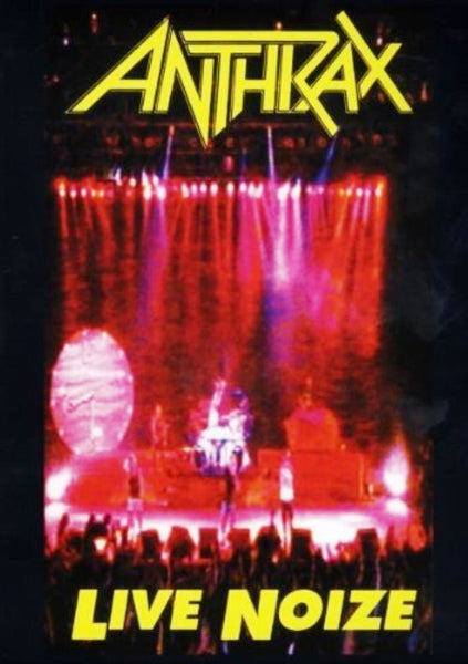 ANTHRAX-LIVE NOIZE DVD *NEW*