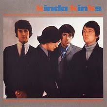 KINKS THE-KINDA KINKS LP VG+ COVER VG+
