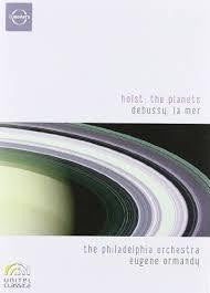 HOLST DEBUSSY-THE PLANETS LA MER DVD *NEW*