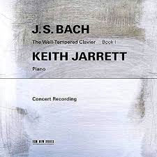 BACH J.S.-THE WELL-TEMPERED CLAVIER BOOK 1 KEITH JARRETT 2CD *NEW*