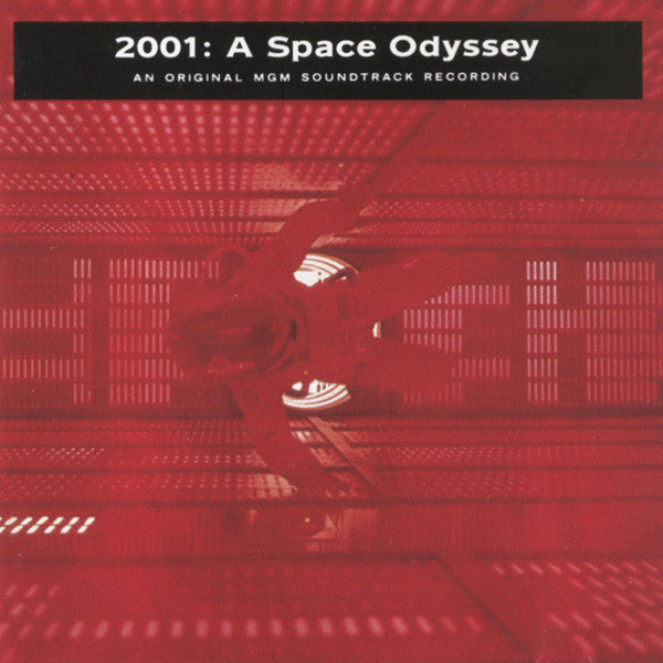 2001: A SPACE ODYSSEY-VARIOUS ARTISTS CD VG
