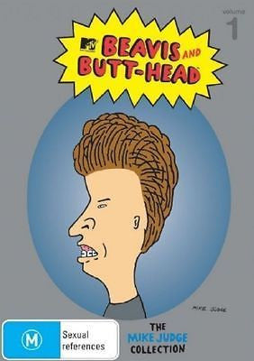 BEAVIS AND BUTT-HEAD THE MIKE JUDGE COLLECTION VOL. 1 3DVD SET VG+