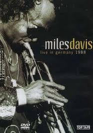 DAVIS MILES-LIVE IN GERMANY 1988 DVD *NEW*