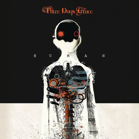 THREE DAYS GRACE-HUMAN CD VG