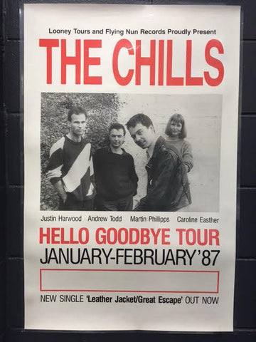 CHILLS THE - HELLO GOODBYE TOUR POSTER LAMINATED