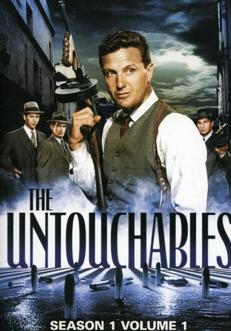 UNTOUCHABLES SEASON ONE VOLUME FOUR 4DVD REGION 1 VG