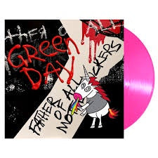 GREEN DAY-FATHER OF ALL... NEON PINK VINYL LP *NEW*