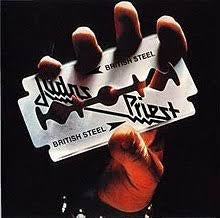 JUDAS PRIEST-BRITISH STEEL LP VG COVER VG