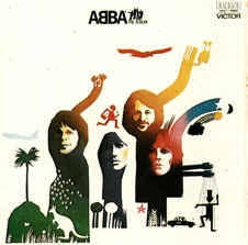 ABBA-THE ALBUM LP VG+ COVER VG+