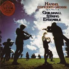 HANDEL-CONCERTI GROSSI OP. 6 NOS. 5-8 GUILDHALL STRING ENSEMBLE CD VG