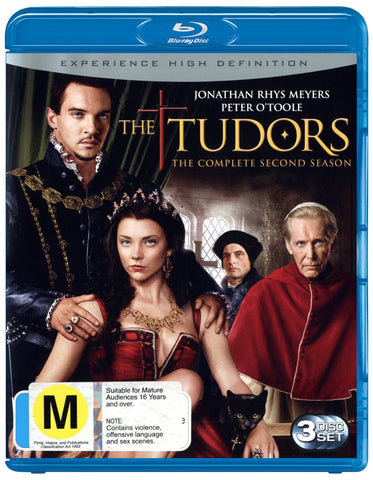 TUDORS THE-COMPLETE SECOND SEASON 3BLURAY VG+