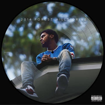 "COLE J.-2014 FOREST HILLS DRIVE PICTURE DISC 12"" EP *NEW*"