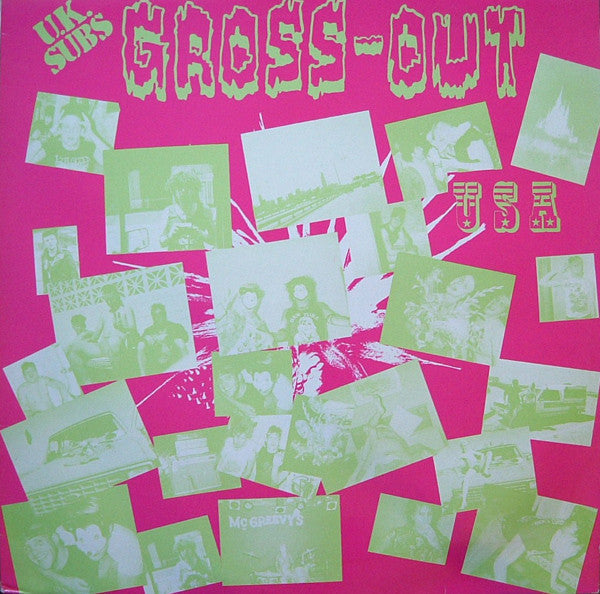 UK SUBS-GROSS OUT USA WHITE VINYL *NEW*