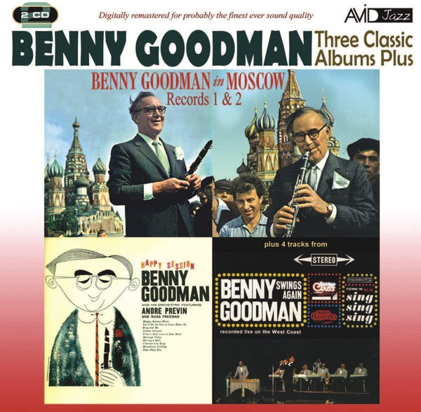 GOODMAN BENNY-THREE CLASSIC ALBUMS PLUS 2CD *NEW*