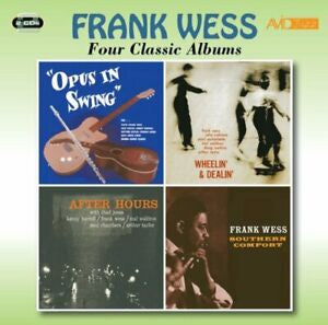 WESS FRANK-FOUR CLASSIC ALBUMS 2CD *NEW*