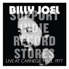 JOEL BILLY-LIVE AT CARNEGIE HALL 1977 2LP *NEW*