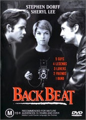 BACK BEAT DVD VG