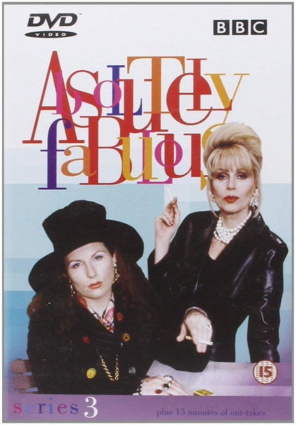ABSOLUTELY FABULOUS SERIES 3 DVD VG