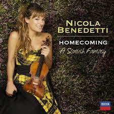BENEDETTI NICOLA-HOMECOMING A SCOTTISH FANTASY CD *NEW*