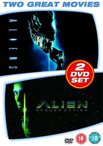 ALIENS AND ALIEN RESURRECTION REGION 2 R16 2DVD VG