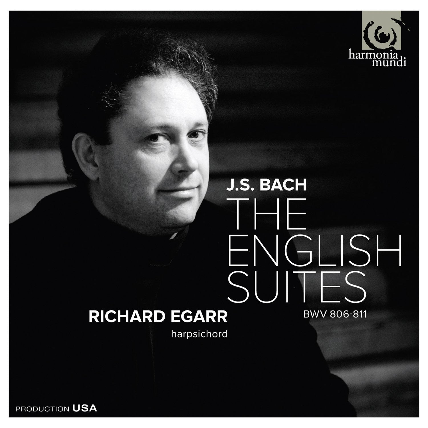 BACH JS-THE ENGLISH SUITES RICHARD EGARR *NEW*